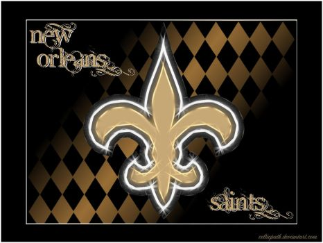 New Orleans Saints wallpaper by celticpath