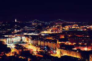 View over Lisbon by Ana-D
