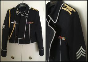 Roy Mustang Amestris military uniform details by TimeyWimey-007