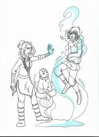 Kataang kids by LilyScribbles