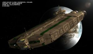 Commissioned: Ursa Major class Commercial Hauler by Colourbrand