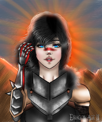 Champion of Kirkwall. by GwenRed