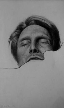 Mads Mikkelsen by IthilElbereth