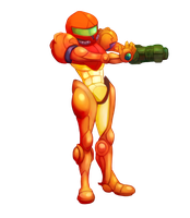SMASH: Samus by Zeighous