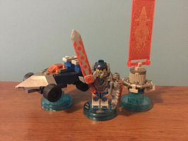 Lego dimensions nexo knights level pack moc by oldmanspringtrap