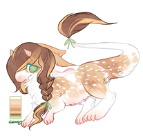 delicate deery [she's actually official now lmao] by noewhit