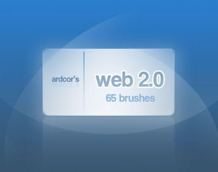 Web 2.0 Style Brushes by ardcor