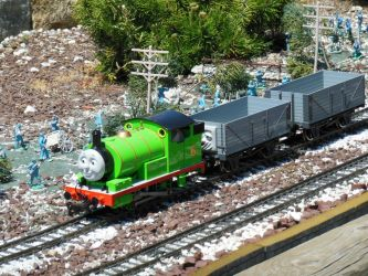 Percy and the Foolish Freight Cars by rlkitterman