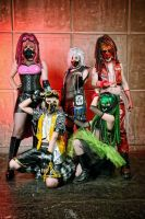 VOCALOID Cyber Cosplay by Karinui