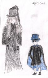 Undertaker and Ciel by HookSilverSparrow