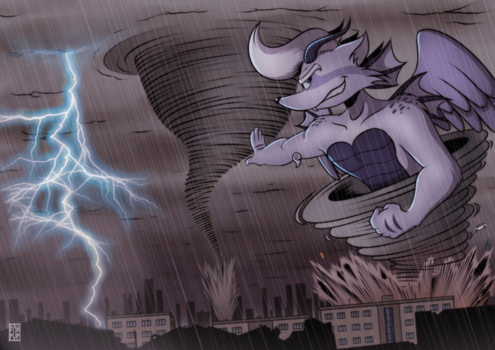 ::COMM:: Cyclone strikes back by FOX-POP