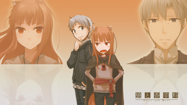 Holo and Kraft Wallpaper by Artinuss