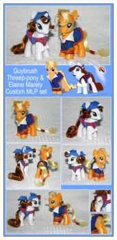 MLP ToMI: Elaine + Guybrush by RadiantGlyph