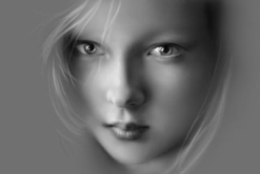 Soft Airbrushing - Girl's Face by ArtOfWei