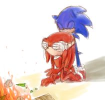 sonic and knuckles by mas2a