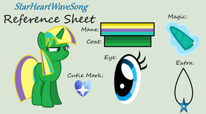 StarHeartWaveSong Reference Sheet by StarHeartWaveSong