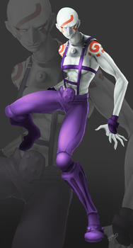 Contest Submission - Genderbent Necro! by Dollicon