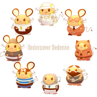 Welcome to the Daily Dedenne 08 Undercover Dedenne