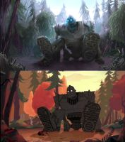 Iron Giant Paintover by entityNULL