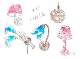 Lamps by jkBunny