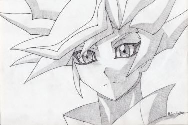 Unknown Pencil Drawing by RubintheHorse