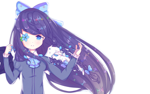 [C] Blue petals by Seraphy-chan