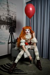 Pennywise (Pennywife) Cosplay - Pseudo Boudoir II by Hollitaima