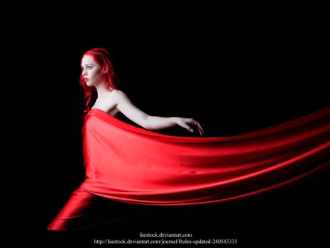 Red silk 8 by faestock