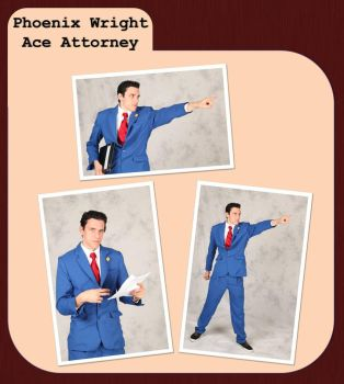 Case File: Phoenix Wright by craftysorceress
