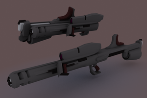 AFF- Heavy Anti-Armour Rifle by failurecrusade