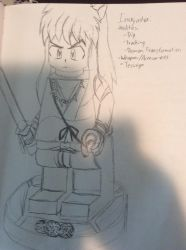 LEGO Dimensions Idea 2: Inuyasha by doctorwhooves253