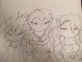 Dragon Slayers - Rise Of The Black Wings by TyAnimations321