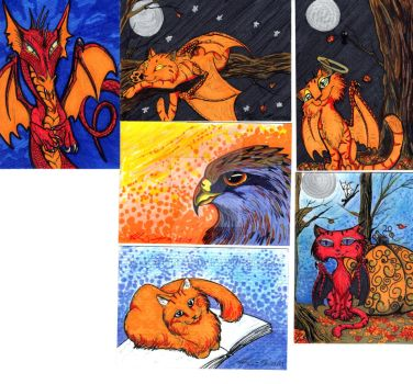 ACEO Cards by Mshellt