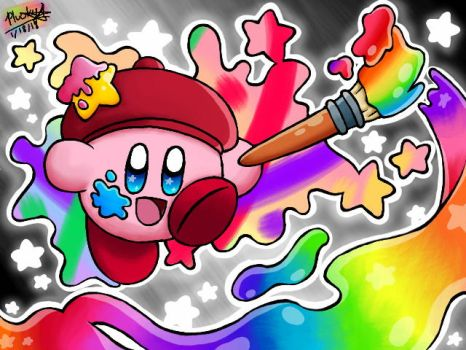 A Million Colors ~ Artist Kirby by Plucky-Nova