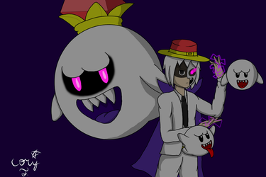 King Boo Phantom by RichardtheDarkBoy29