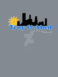 Troy and Abed Remastered by MightyRain