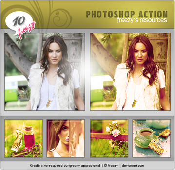 Photoshop action 10 by freezy-resources