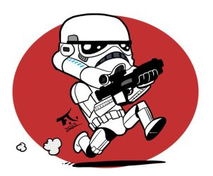 Stormtrooper by PsychoCaptain