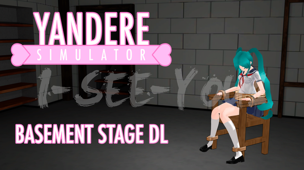 Yandere Sim. MMD Stage Yandere-chan Basement [DL] by i-see-you1