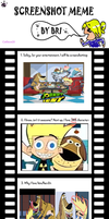 Johnny Test Screenshot Meme by catface20