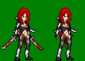 League Of Legends Katarina Jus Style Sprite by Kayspriter