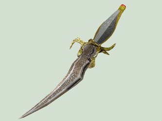 3D Time Dagger (Maybe for MMD) by M0fD