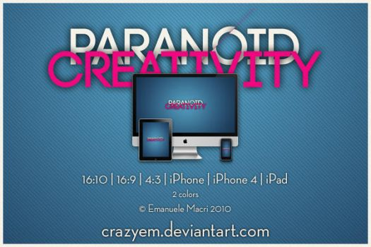 Paranoid Creativity by CrazyEM