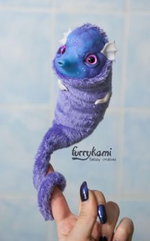 Sea Horse art doll by Furrykami by Furrykami-creatures