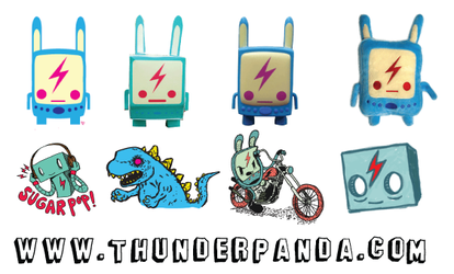 Thunderpanda Mac Icon by sampratot