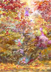 The fairies' work in autumn by efira-japan