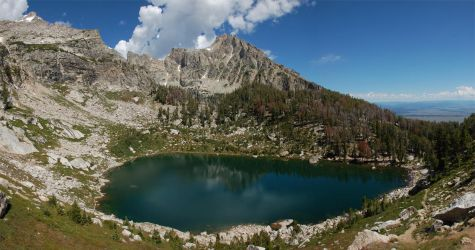Teton Amphitheater Lake 5 2010 by eRality