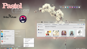 PastelGlass For Windows7! by Waatt
