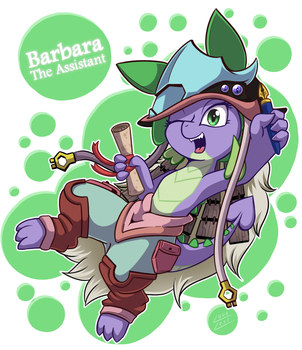 [Fan Art] Barbara The Assistant by vavacung