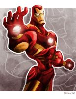 Iron Man by TedKimArt